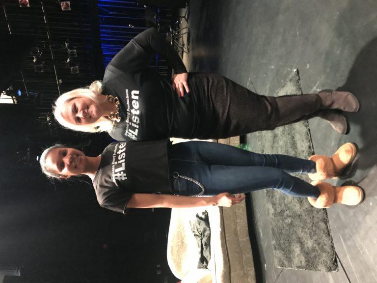 Andreana Beard and Lori Hoff
